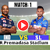 IND vs SL 2021: 1st ODI: SriLanka win the Toss and elected to bat first , Check out the playing XI