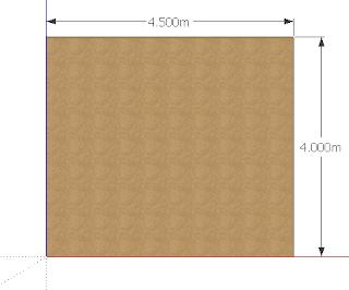 Perintah atau Tool Untuk Membuat Kotak (Rectangle) di Google SketchUp Pro 8