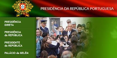 Print da página de Portugal