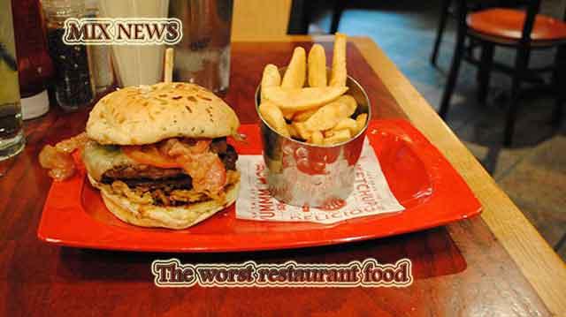 The worst restaurant food