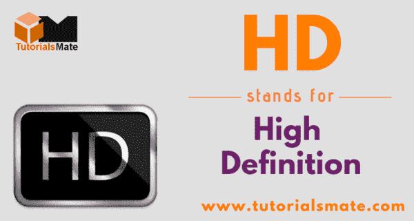 HD Full Form