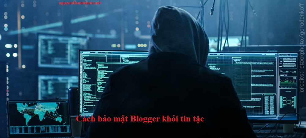 Cách bảo mật Blog