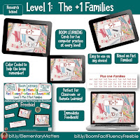 Level 1 Boom Learning Fact Fluency Addition and Subtraction