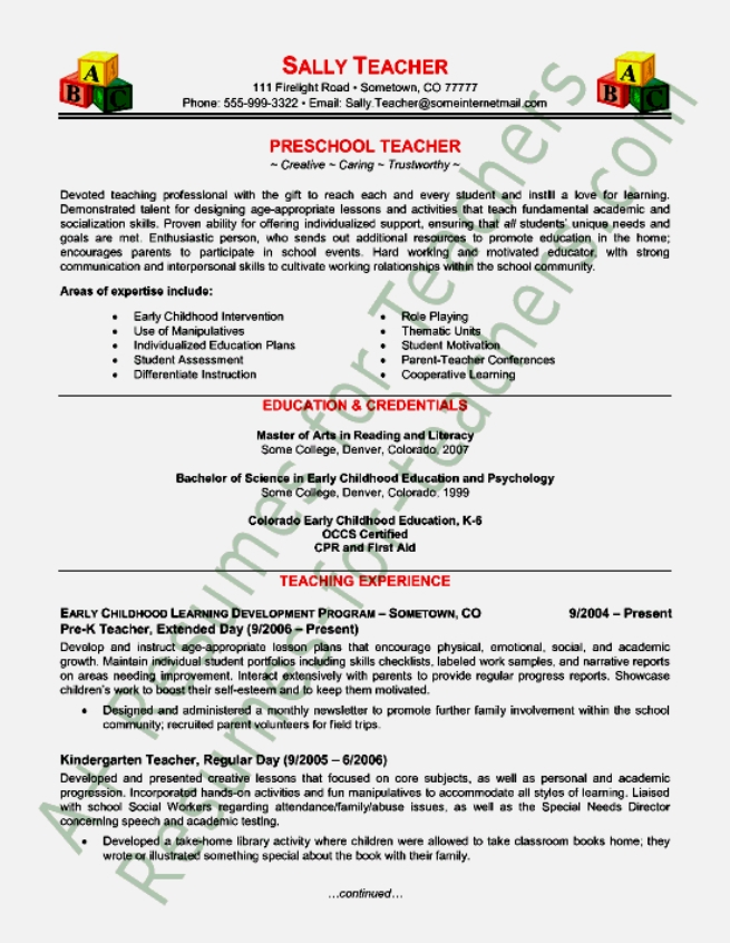 job resumes templates - Intoanysearch