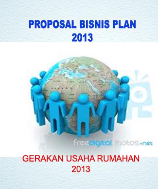 Contoh Cover Proposal Rencana Bisnis Id Jobs Db