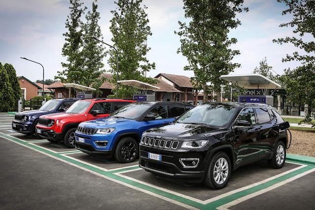 Jeep Renegade e Compass 4xe híbridos plug-in, que vêm ao Brasil em 2021, têm novos detalhes revelados