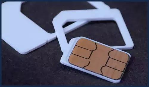 وضع بطاقة SIM بشكل صحيح