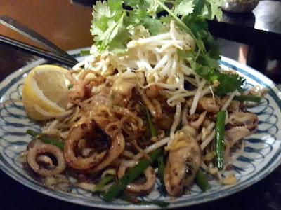 Pad Thai at Chat Thai Chinatown Sydney Australia