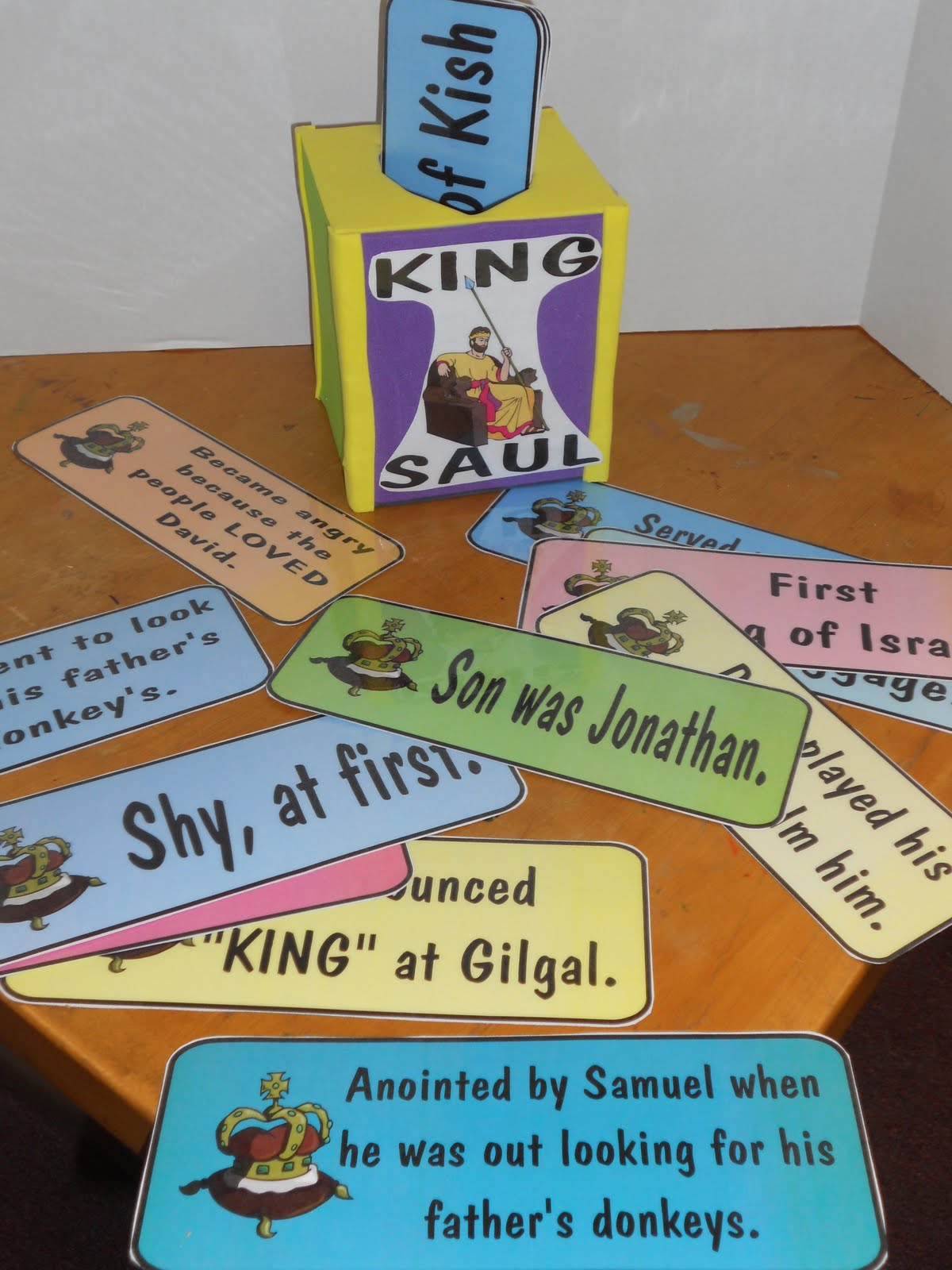 Hands On Bible Teacher Tissue Box Turned Review Game