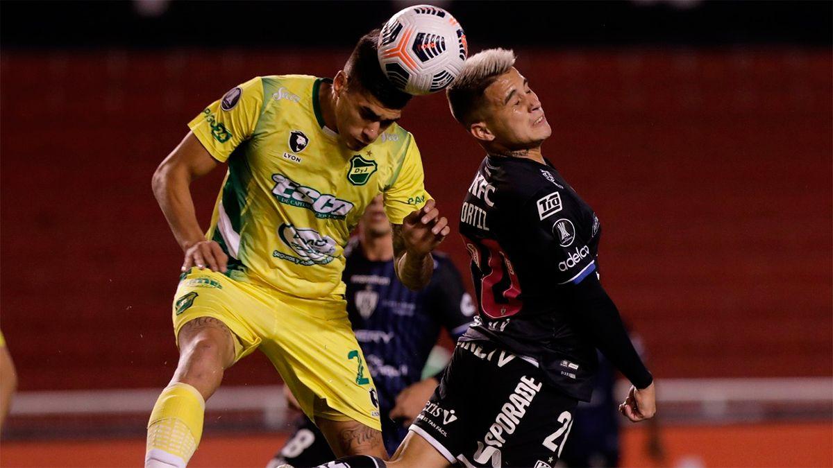 Defensa y Justicia rescata un empate en Ecuador en su debut en la Copa Libertadores