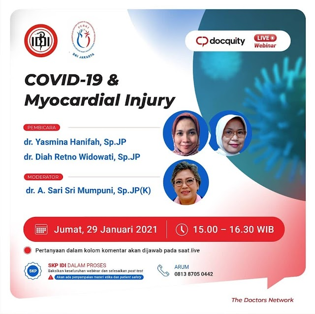 "Webinar ""Covid-19 & Myocardial Injury"""