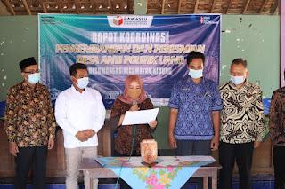 Resmi, Dongos Jadi Desa Anti Politik Uang Bawaslu Jepara