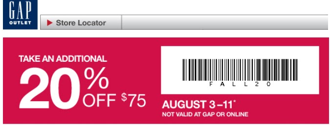photograph regarding Gap Factory Printable Coupon referred to as Hole manufacturing facility coupon code november 2018 - Closing second golfing