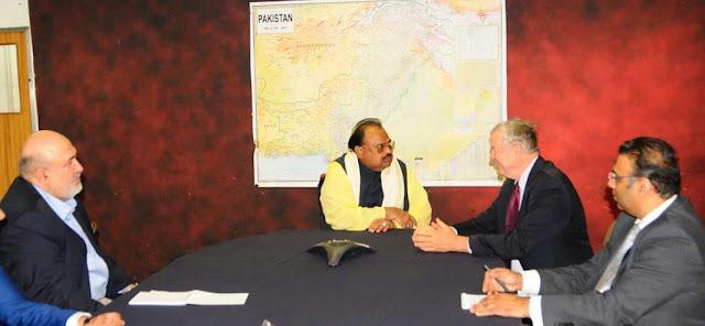 غدار وطن الطاف حسین کی غداری کا سلسلہ جاری، پاکستان مخالف امریکی کانگریس ارکان کے ساتھ ملاقات