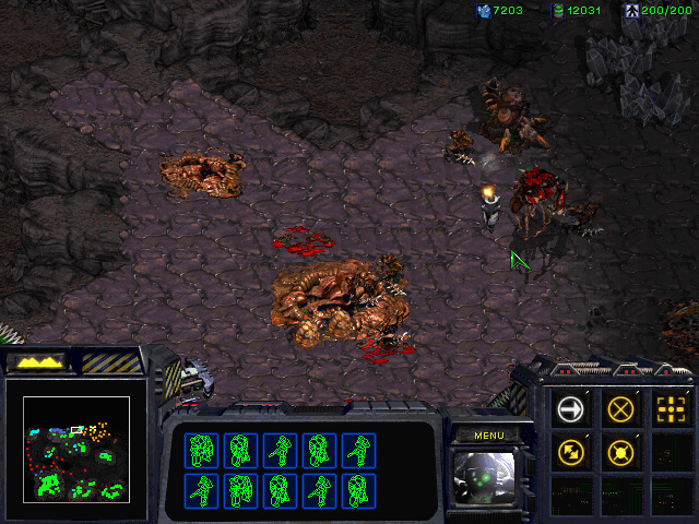 StarCraft: Brood War Mission 8: To Chain the Beast.