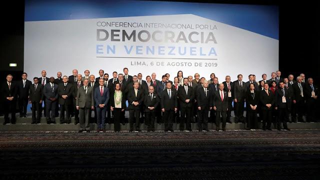 """La Conferencia sobre la Democracia en Venezuela culminó con un consenso sobre la presión diplomática contra el régimen chavista: """"Los resultados son alentadores"""""""