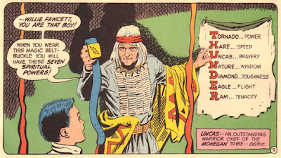 Superman #276, Willie Fawcett gets his powers, Captain Thunder/Captain Marvel