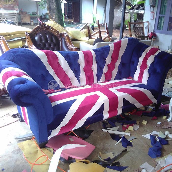 Sofa Chester Inggris | Jual Sofa 3 Seater