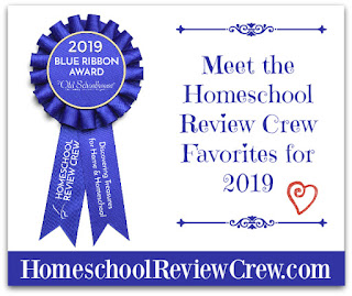 Homeschool Review Crew Blue Ribbon awards