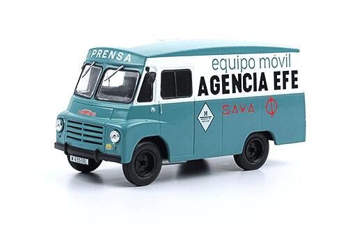 Sava LDO-5 1963 Agencia EFE 1/43 vehículos de reparto y servicio salvat