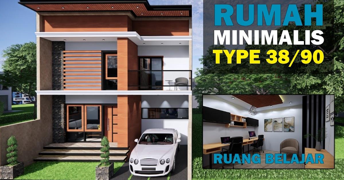 Desain Rumah Minimalis Type 38 2 Lantai