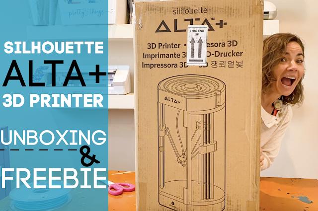 Silhouette 101, Silhouette America Blog, Alta Plus, 3D Printer, Alta Printer