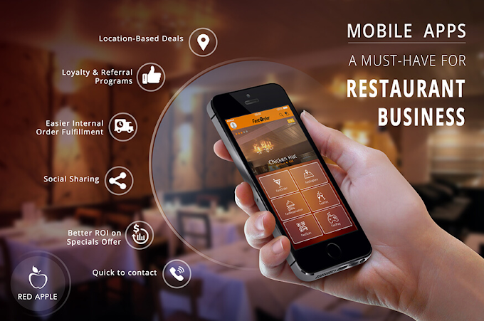 What Are the 5 Most Prominent Restaurant Apps for Android and iOS