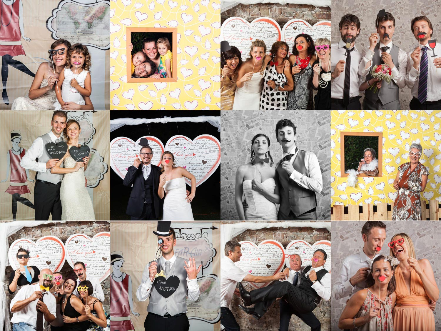 Cornici Photo Booth Fai Da Te Consigliami Il Matrimonio Il Photo Booth Originale E