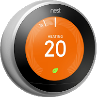 red thermostat
