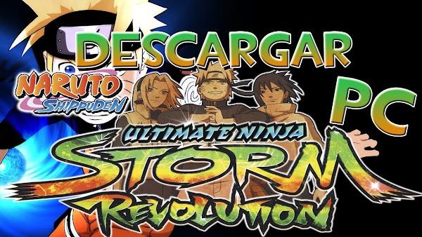 DESCARGAR NARUTO SHIPPUDEN Ultimate Ninja STORM Revolution  Español  MEGA