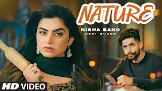 Checkout New Punjabi Song Nature lyrics penned by Geeta Kahlanwali and sung by Nisha Bano ft Jaggi Kharoud