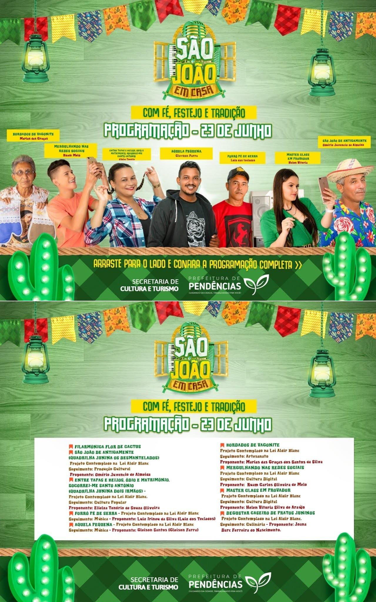 Flaudivan Martins divulga programação para o São João