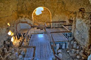 """Masada, también llamada """"la fortaleza"""", es uno de los lugares históricos de Israel 8"""