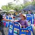 DPRD Kab.Pangandaran dan Dinas Pariwisata Bagikan Masker di Lokasi Wisata