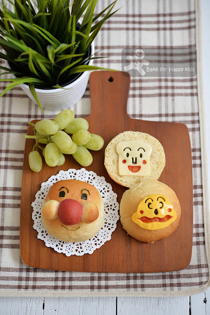 anpanman shokupanman friend bread