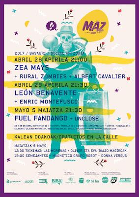 Maz Basauri, Festival, Música, cartel, 2017