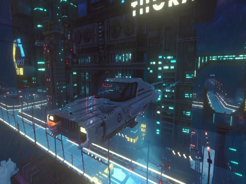 Download Cloudpunk City of Ghosts Free Full Game For PC