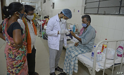 مرض جديد مرتبط بكورونا في الهند يقتل نصف المصابين به