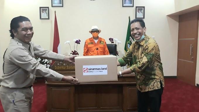 Sinar Mas Land Berikan Bantuan Alat Pelindung bagi Para Petugas Medis di Provinsi Banten