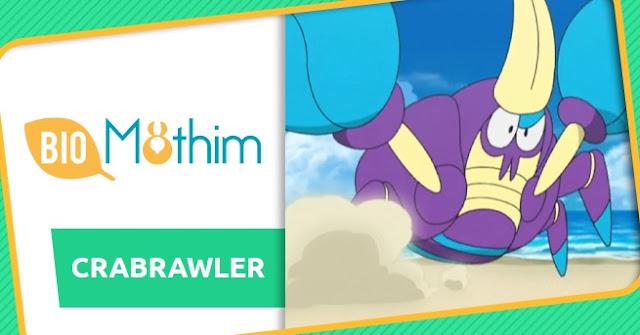 Biomothim: Crabrawler e Crabominable!