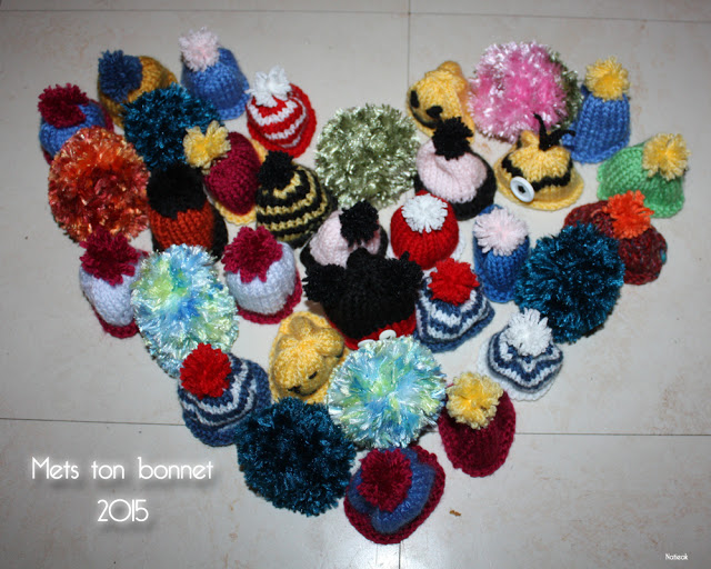 mes bonnets pour Innocent