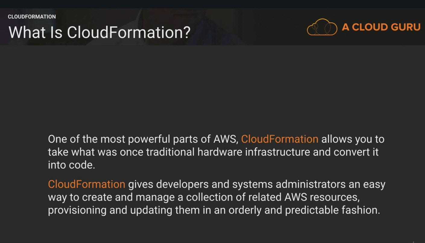 AWS Certified Developer Associate Notes - Cloud Formation