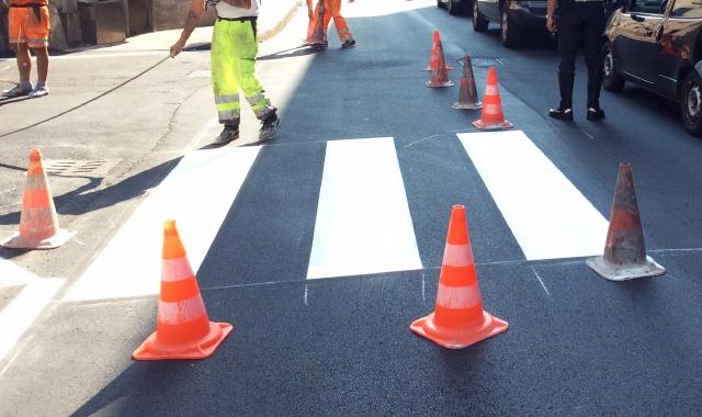 Viabilità a Negrar, da domani manutenzione alla segnaletica stradale