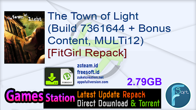 The Town of Light (Build 7361644 + Bonus Content, MULTi12) [FitGirl Repack, Selective Download – from 2.2 GB]