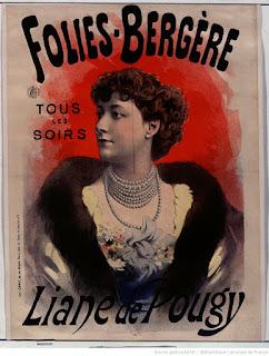 Affiche : Liane de Pougy aux Folies-Bergères