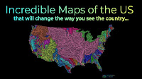 Incredible Maps of the US that will Change the Way You See the Country