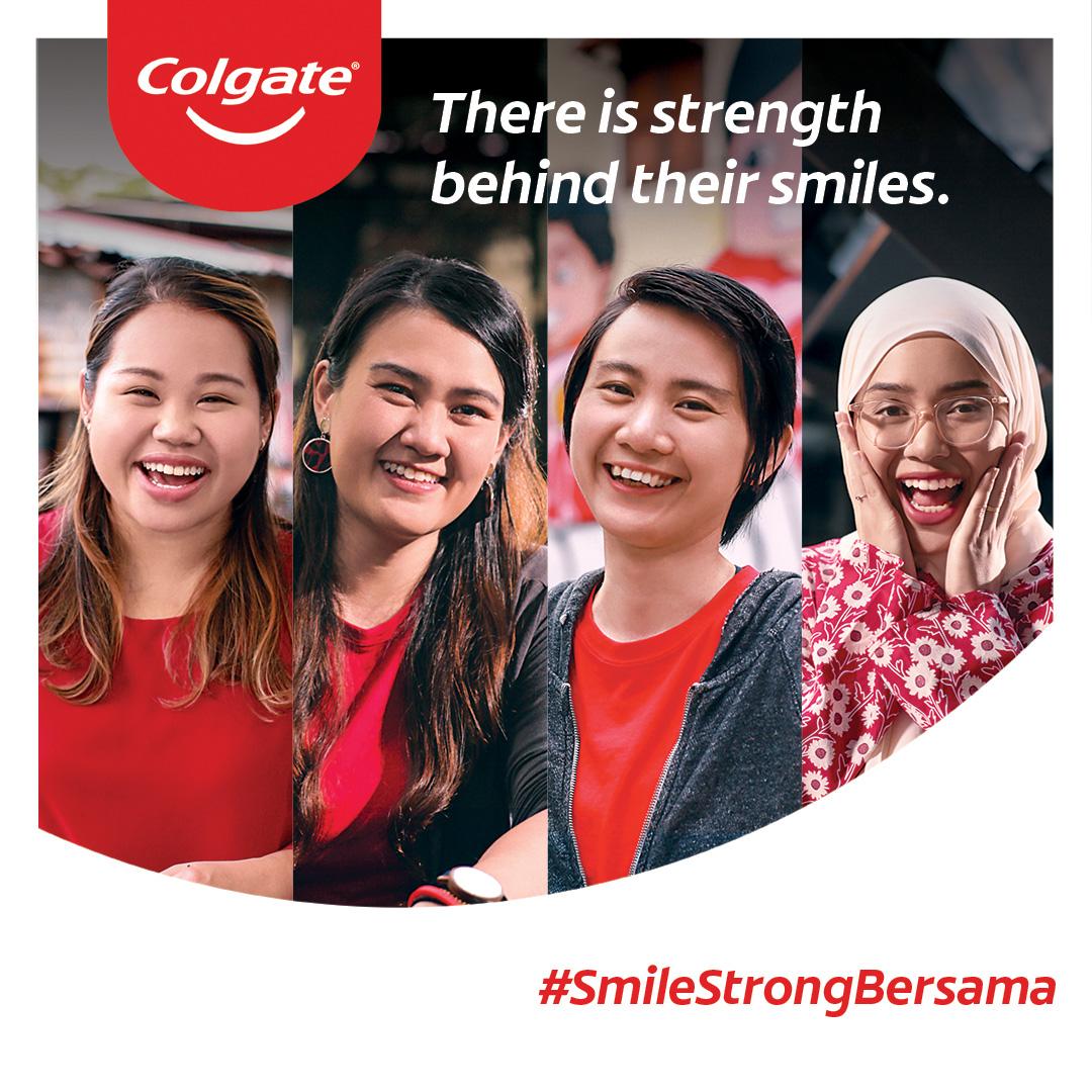 Malaysia (Colgate) melancarkan kempen terbaru #SmileStrongBersama