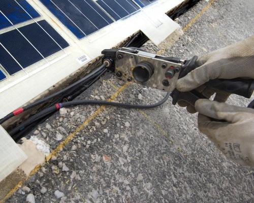 Colas Inaugurated Asphalt Solar Panels Wattway In Normandy