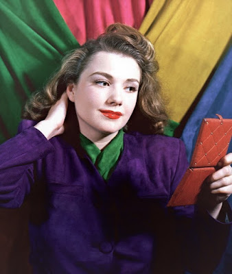 Anne Baxter In Color