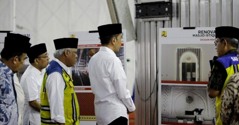 Puji Tuhan, Terowongan Toleransi Katedral dengan Masjid Istiqlal Selesai Bulan Agustus